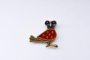 Фибула-сова